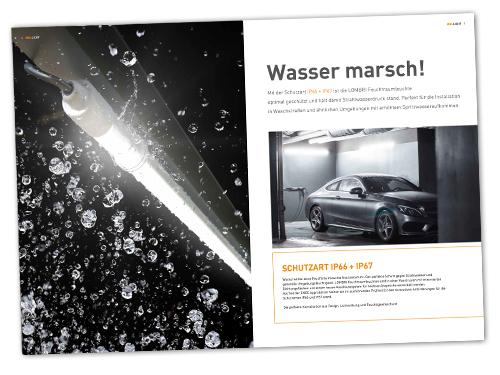 MGL Licht LED Feuchtraumleuchte FRT Broschüre 12 Seiter